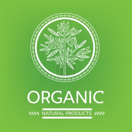 Illustration for Vector design elements for organic natural logos - Royalty Free Image
