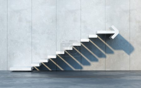 Photo for Stairs going  upward - Royalty Free Image