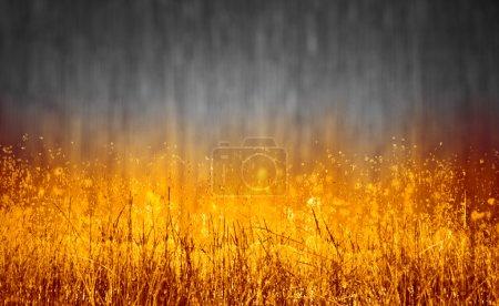 burning wooden  background