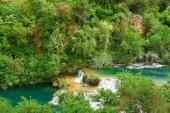 Beautiful landscape near Waterfall Krka