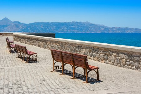 Quayside. Heraklion, Crete, Greece