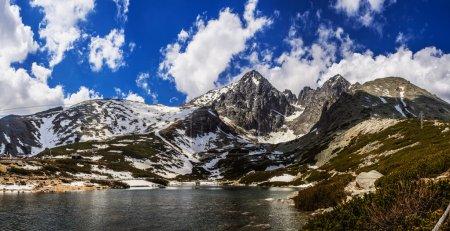 Lomnicky Stit in High Tatras mountains of Slovakia