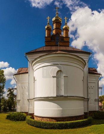 Holy Cross Church in town Vysokaye