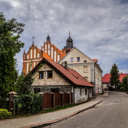 Church of Sts. Anna located in Barczewo, Poland