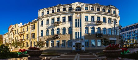 Soviet-built building in Minsk, Belarus