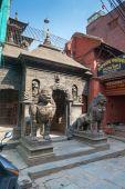Small street temple near Patan Durbar Square