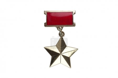badge of the medal of the Gold Star of the Hero of the Soviet Un