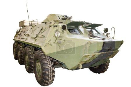 infantry vehicle on white