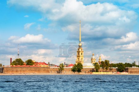 Paul and Peter fortress in Saint Petersburg