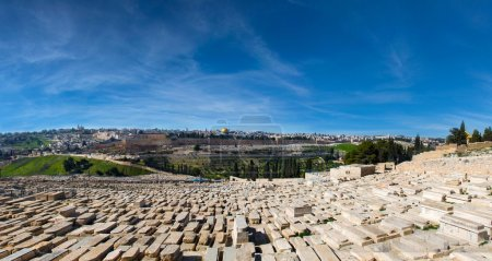 Magnificent panorama of Jerusalem.