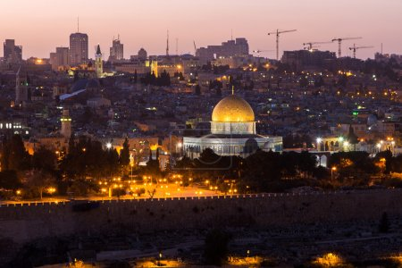The old city of Jerusalem, Israel.