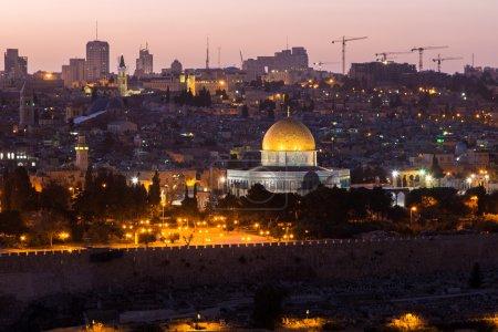 the old city of Jerusalem, Israel.