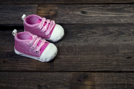Pink Baby Shoes.