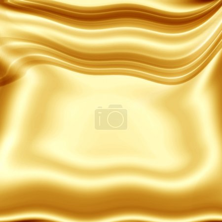 Gold- yellow fabric texture