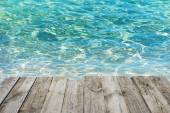 tropical blue water background