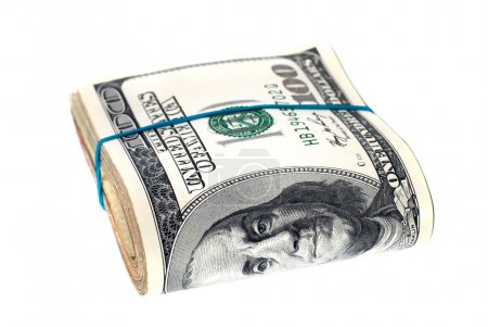 Stack of money- cash of US dollars