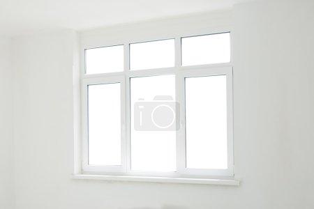 Big window in room