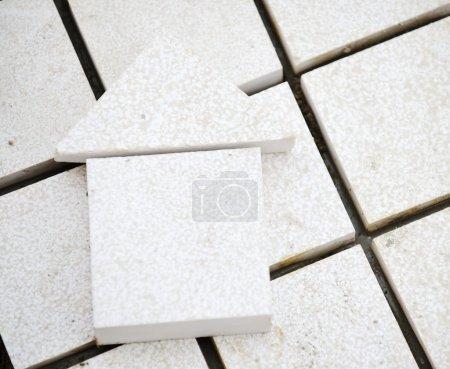 Stone construction, house symbol