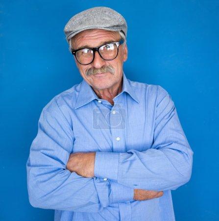 Photo pour Portrait d'un homme d'affaires souriant et confiant - image libre de droit