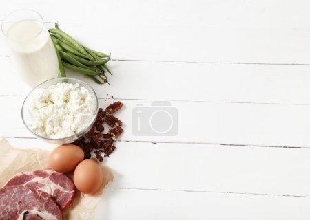 tasty food ingredients