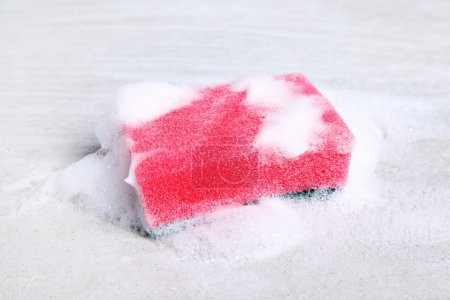colorful Sponge with foam