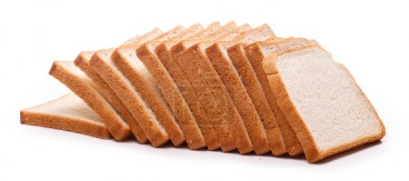 Photo for Food. Delicious sliced bread on a white background - Royalty Free Image