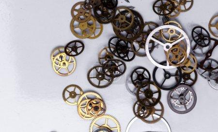 Heap of small gears