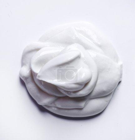 Greek yoghurt on the table