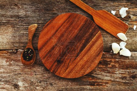 Photo for Cooking, cuisine. Kitchen utensil on the table - Royalty Free Image