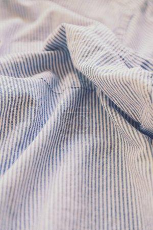 Striped shirt in the wardrobe