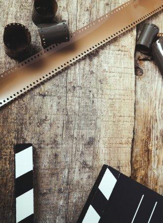 Vintage tape on table
