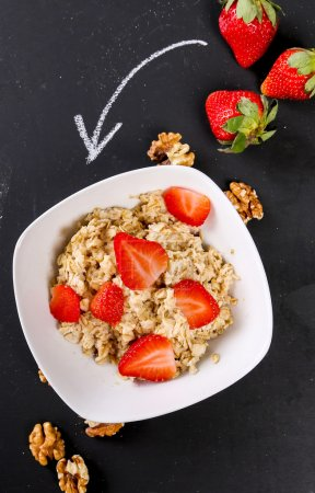 Photo for Healthy food for breakfast on the table - Royalty Free Image
