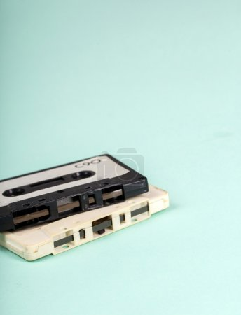 vintage Cassettes on the table