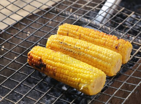 Grilled corn for Picnic
