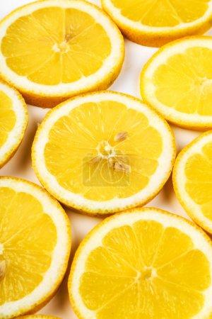 Photo for Citrus, sour. fresh Lemon on the table - Royalty Free Image