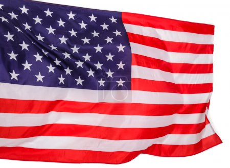 Photo for Independence, symbol. National flag of America - Royalty Free Image