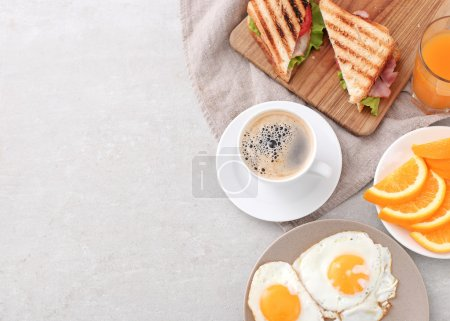 Photo for Delicious freshness breakfast on the table - Royalty Free Image