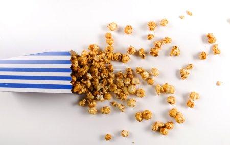 Bucket of caramel Popcorn