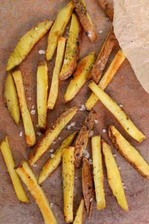 French crispy fries