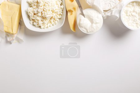 Delicious milk products