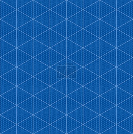 Isometric graph paper for 3D design