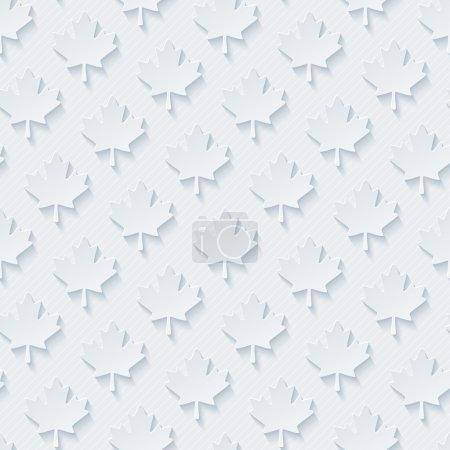 Light gray maple leaves wallpaper.