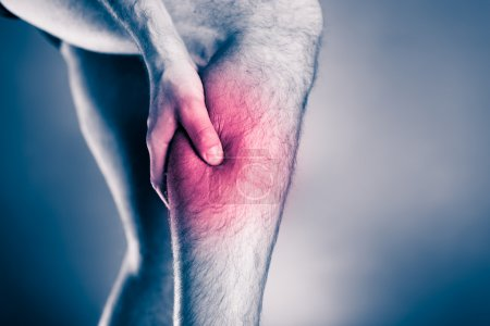 Physical injury, calf leg pain