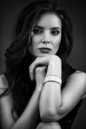 Sexy beautiful glamour woman
