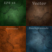 4 Vector Blurred Backgrounds
