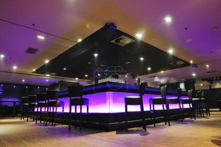 Modern bar or club interior
