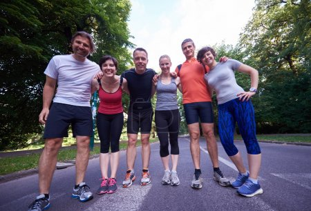 people group runners