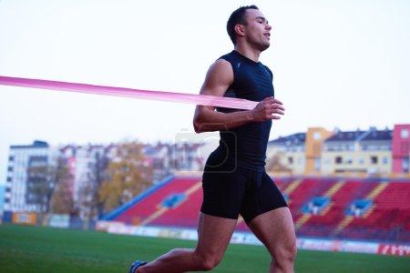 finish  line running