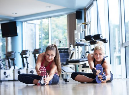 woman working out with personal trainer