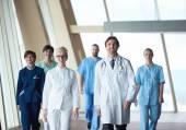 Mladí lékaři tým zobrazení